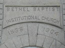 The outside of the church is dated. 1838 is the year the congregation formed and in 1904 construction was completed.