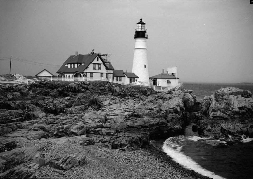 Portland Head Light in 1933