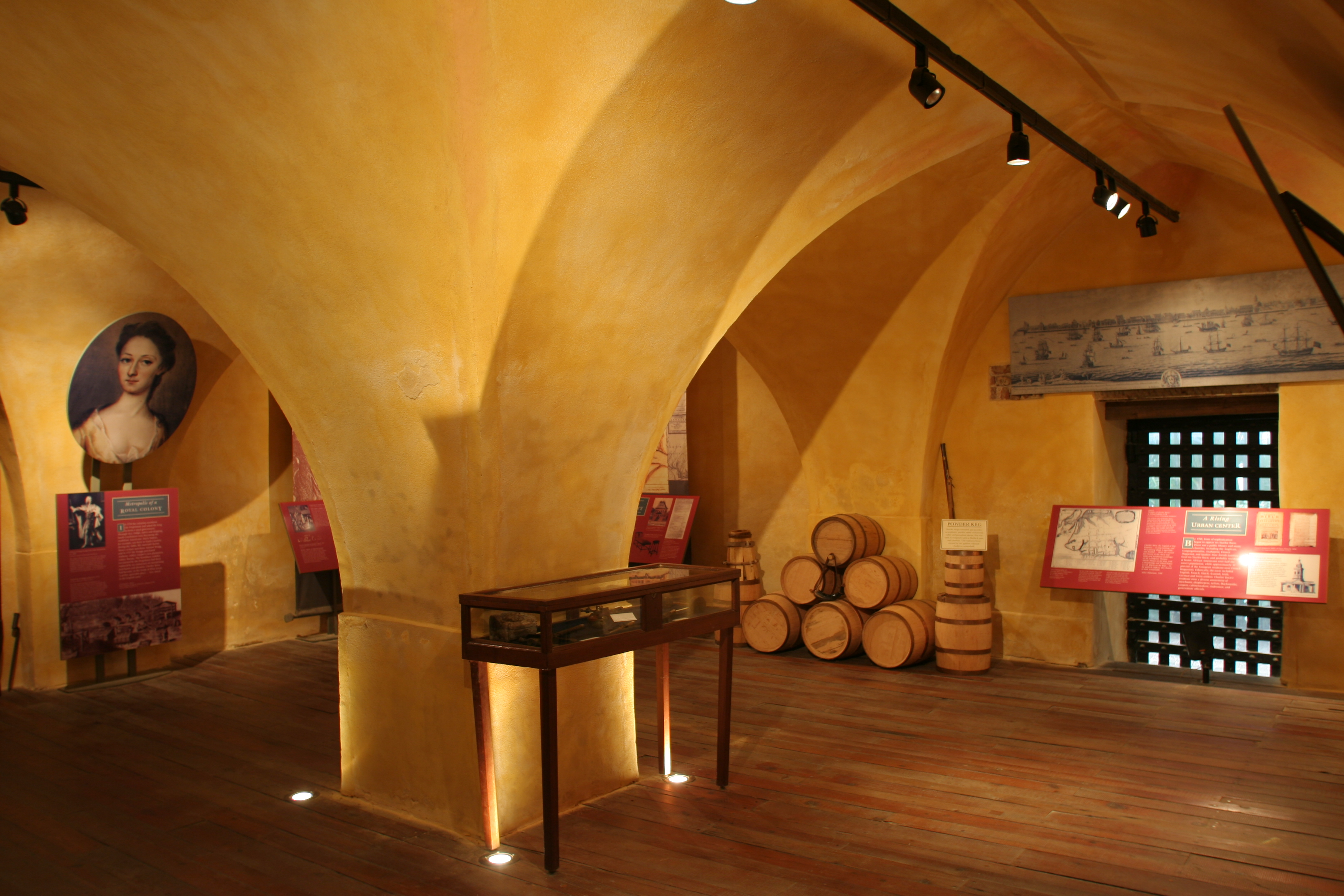 Powder Magazine Interior