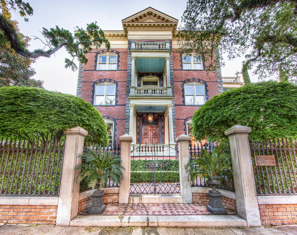 Calhoun Mansion Exterior