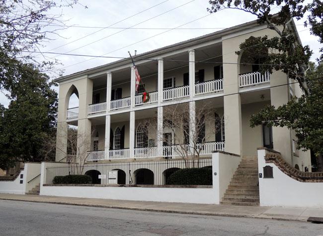 Old Marine Hospital Exterior