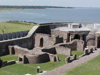 View of Fort Sumter Today