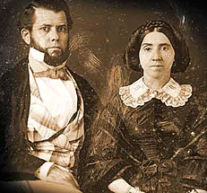 Ruggles Sylvester Morse (1814-1893) and Olive Ring Merrill Morse (1820-1903)