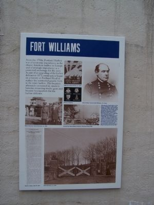 Fort Williams Marker
