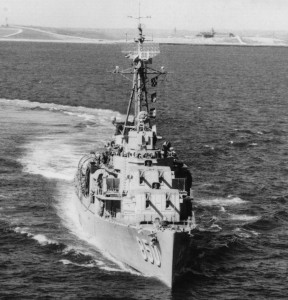 1952 Photo of the USS Joseph P. Kennedy Jr