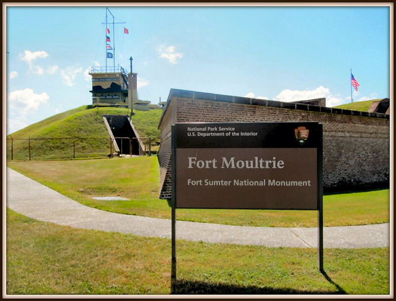 Fort Moultrie Exterior