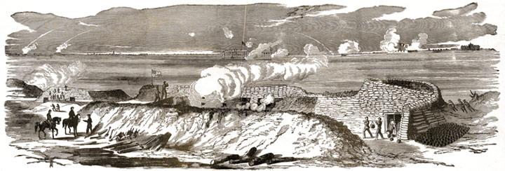 Fort Moultrie Civil War