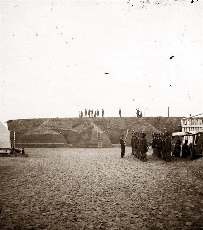 Historic Photo of the 54 Massachusetts Volunteer Infantry
