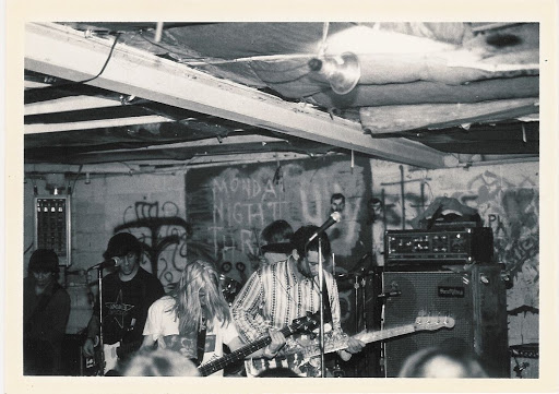 Sonic Youth played the Outhouse in 1986.