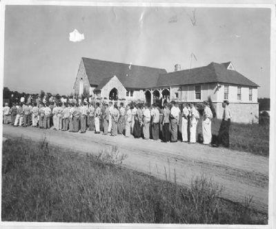 Bonny Oaks Church. 1930s.
