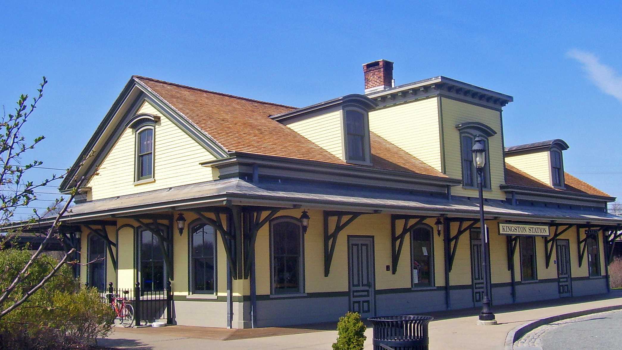 The Kingston Railroad Station