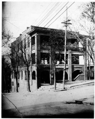 undated photo of Walden Hospital. Believed to be taken while hospital was still in operation.