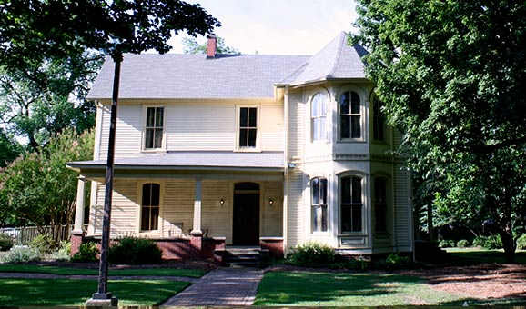 The Walton-Young House was built in 1880 and is today owned and operated by the University of Mississippi Museum