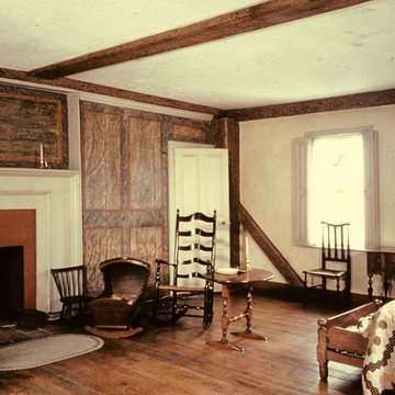 Interior of the Wanton-Lyman-Hazard House