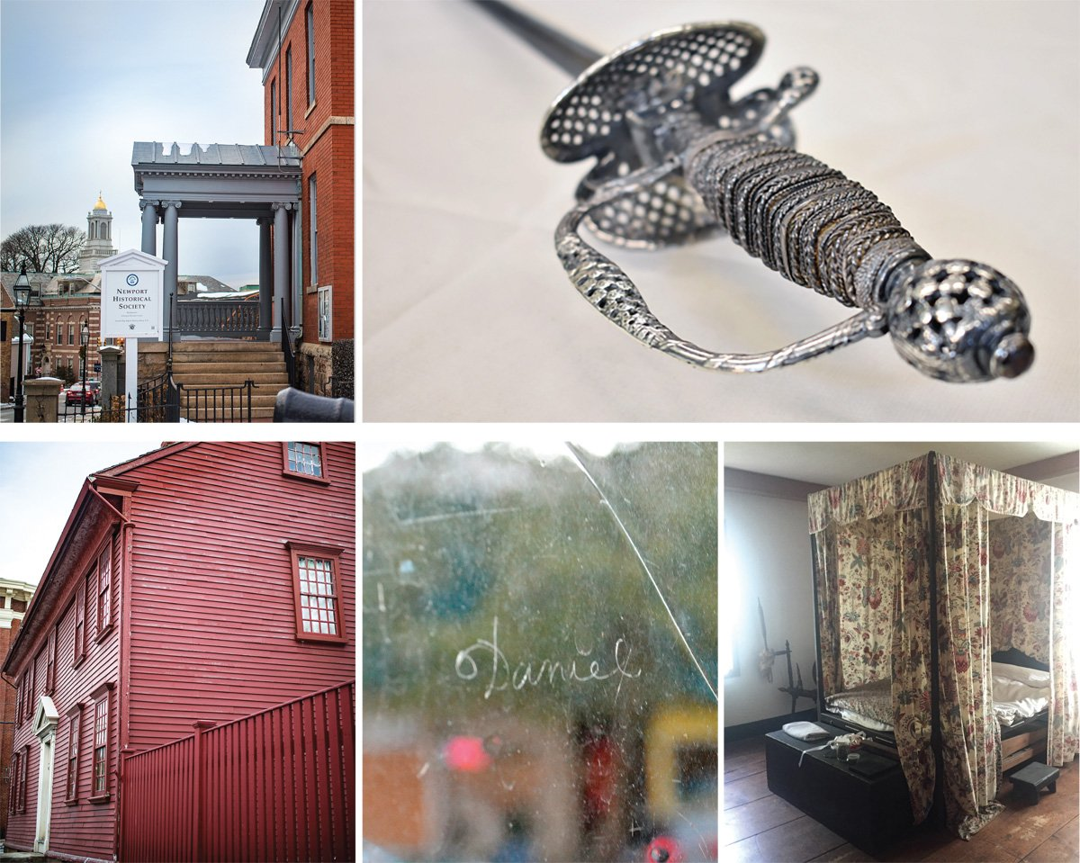 Various photographs from the Wanton-Lyman-Hazard House (photography by Chris Vaccaro used for the Rhode Island Monthly story about Polly Wanton and Daniel Lyman)