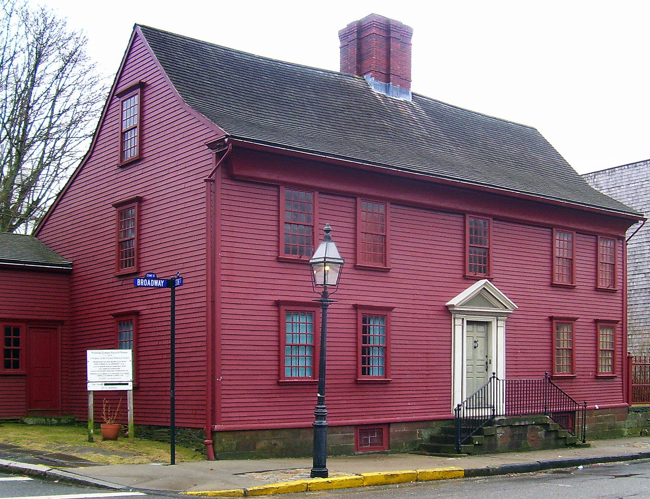 The Wanton-Lyman-Hazard House has been owned by the Newport Historical Society since 1927.