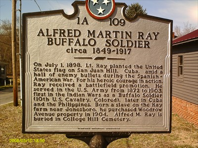 The marker dedicated to Ray is located next to his home. As of date, no known photo of Ray can be found.