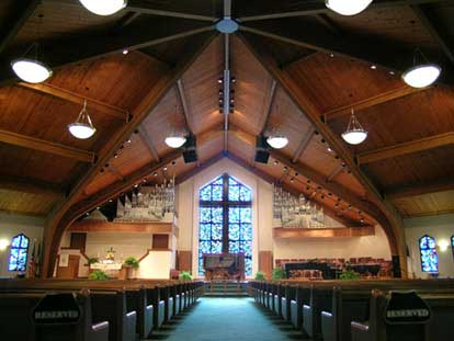 Forrest Burdette Memorial United Methodist Church (Sanctuary)
