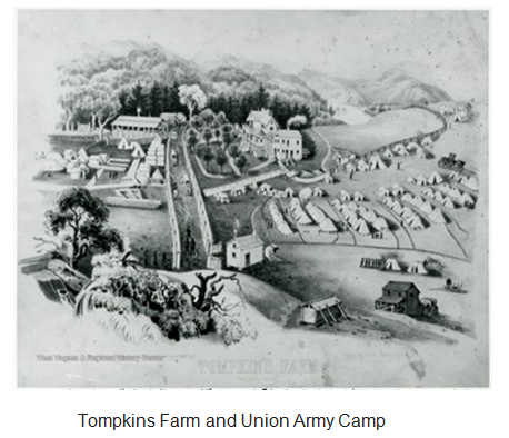 Tompkins Farm and Union Army Camp