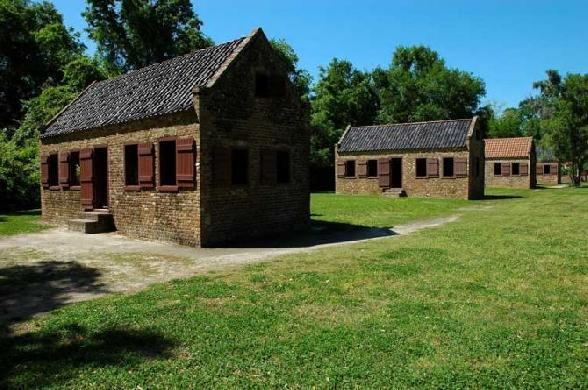 Boone Hall Plantation Slave Living Quarters