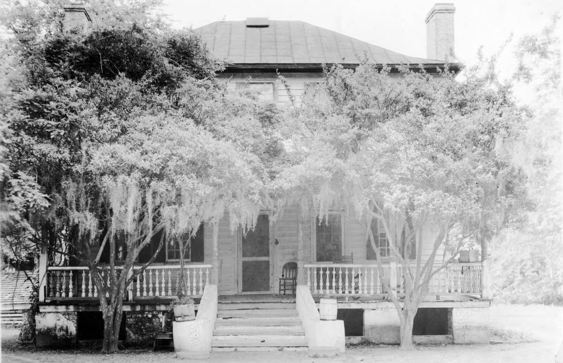 Historic photo of first property to exist on the estate.