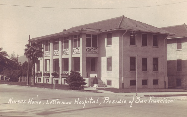 Nurse's home at Letterman Hospital. date unknown