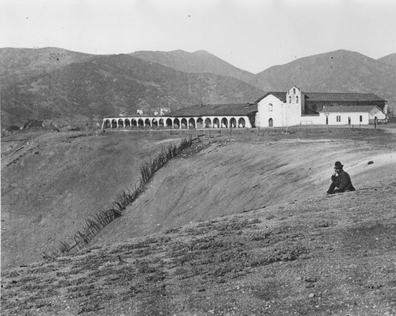 Santa Ines circa 1885.