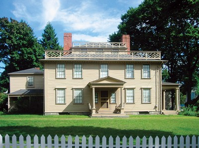 Constructed in 1770, this New England style Georgian mansion was home to Colonel uincy and his influential family.