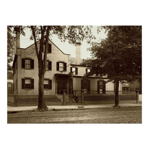 Neal S. Dow House Circa 1900