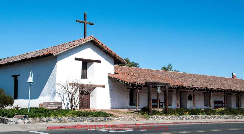 The restored Mission as it appears today.