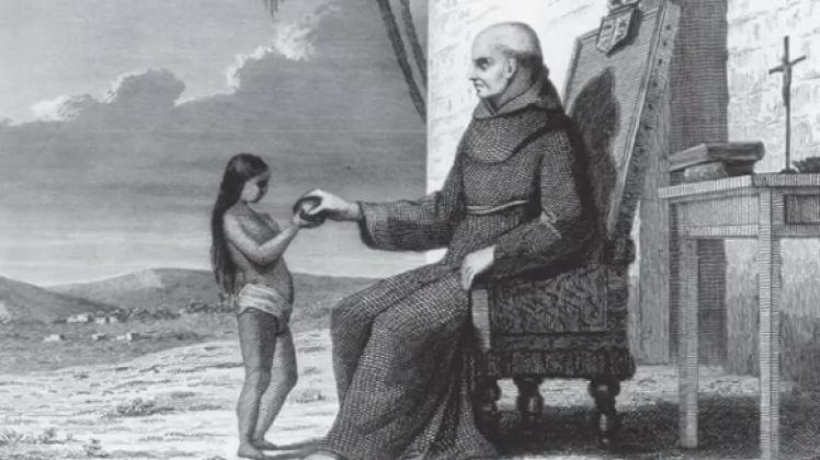 A 19th-century engraving of Padre Narciso Duran. Duran had a reputation as a jovial leader with great fondness for music, but he may also have been given to fits of depression.