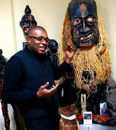 Founder and Director of the Museum of African Culture Oscar Mokeme