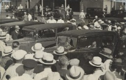 Frank Nash's body is visible in the driver's seat