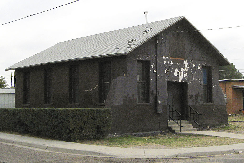 Phillips Chapel before restoration started.