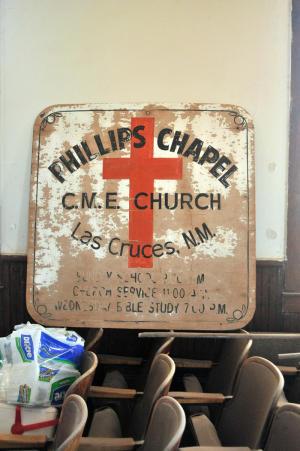 Original Chapel sign