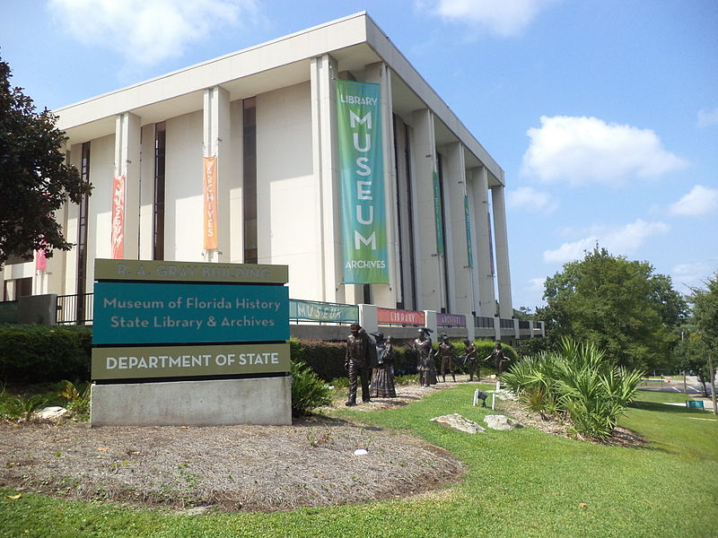 The Museum of Florida History opened in 1977.