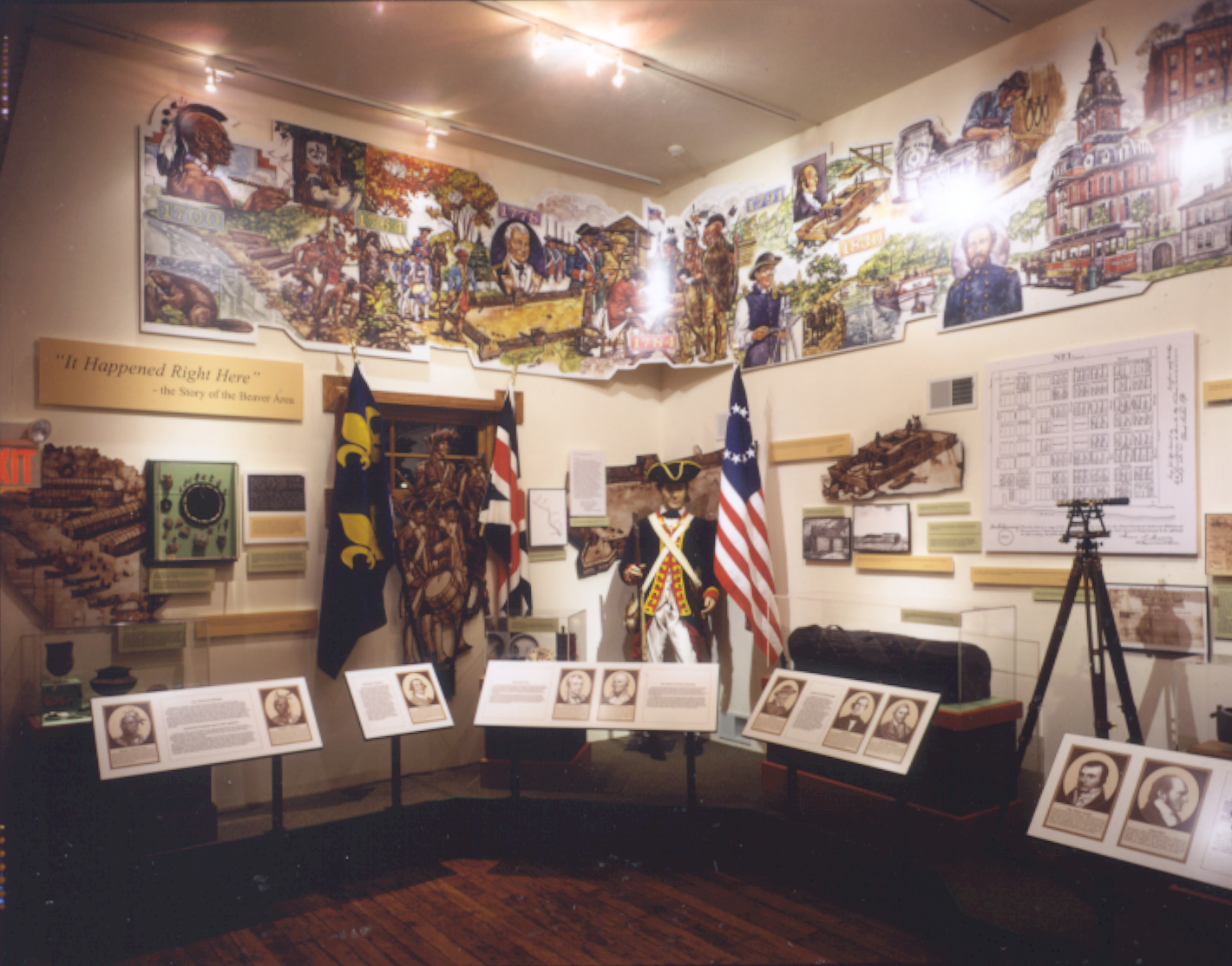 Interior of the Beaver Area Heritage Museum (photo courtesy of the Beaver Area Heritage Museum/Nicholas Traub)