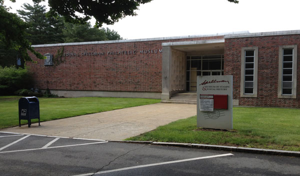 This museum of postal history is also known as the Cardinal Spellman Philatelic Museum