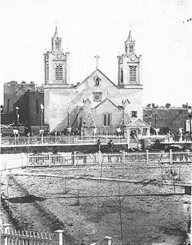 San Felipe de Neri church in the late nineteenth century