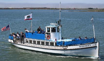 The museum offers cruises on the Madaket from May to October.