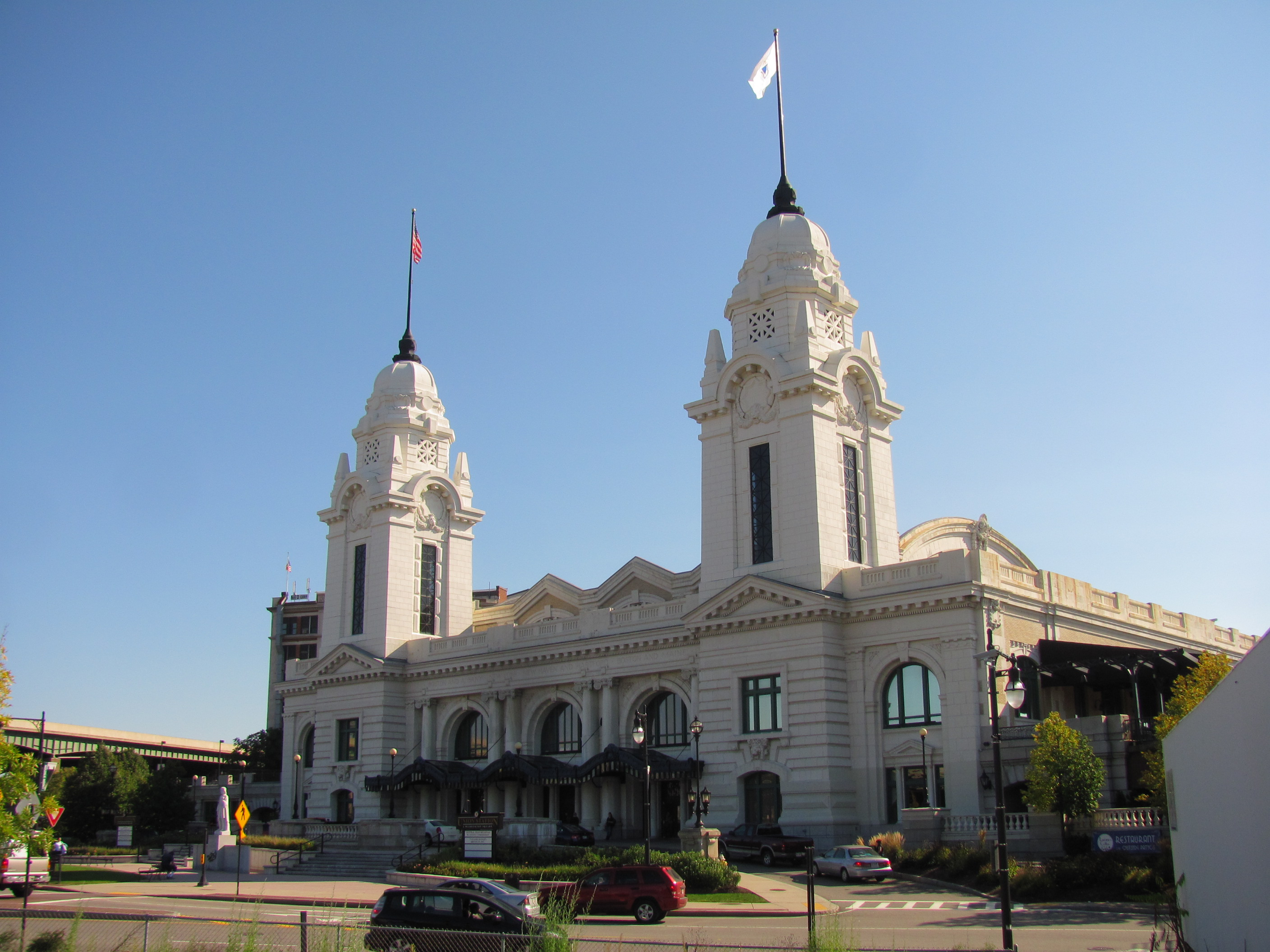 Worcester Union Station (image from Wikimedia)