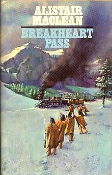 Cover for Alistair MacLean's 1974 novel