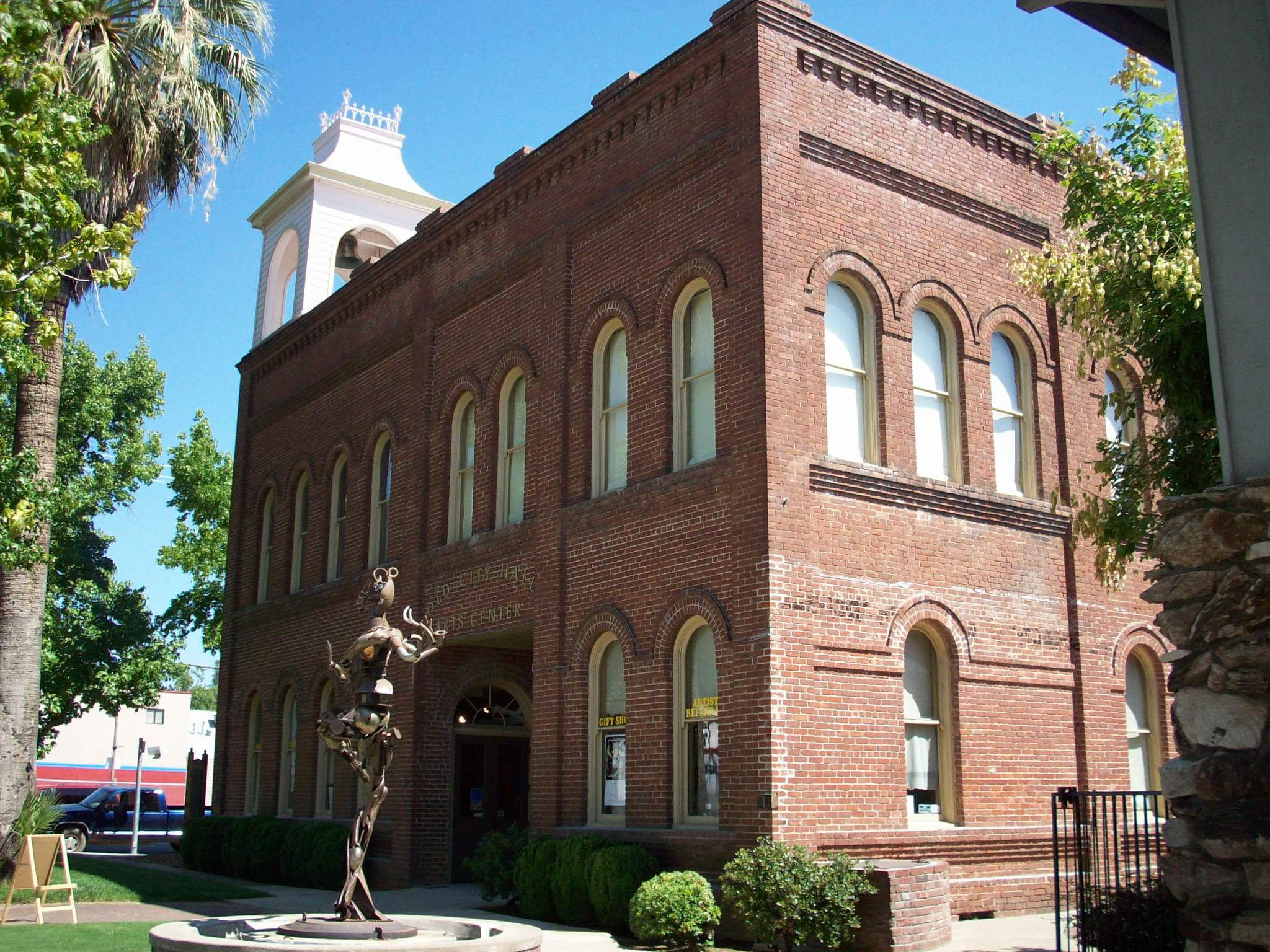 Old City Hall, now the Shasta County Arts Council