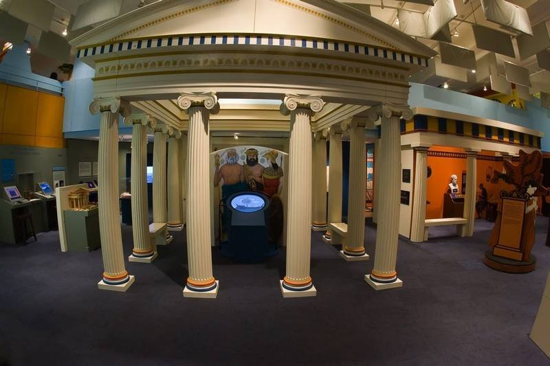 The museum has a variety of permanent and temporary exhibits exploring Greek culture and the story of Greek immigration to America. Image obtained from the Daily Herald.