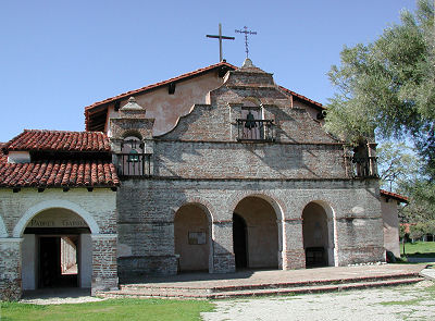 Mission San Antonio de Padua today, known for the exceptional quality of its museum. Cal Poly University leads an archaeological symposium at the mission each year.