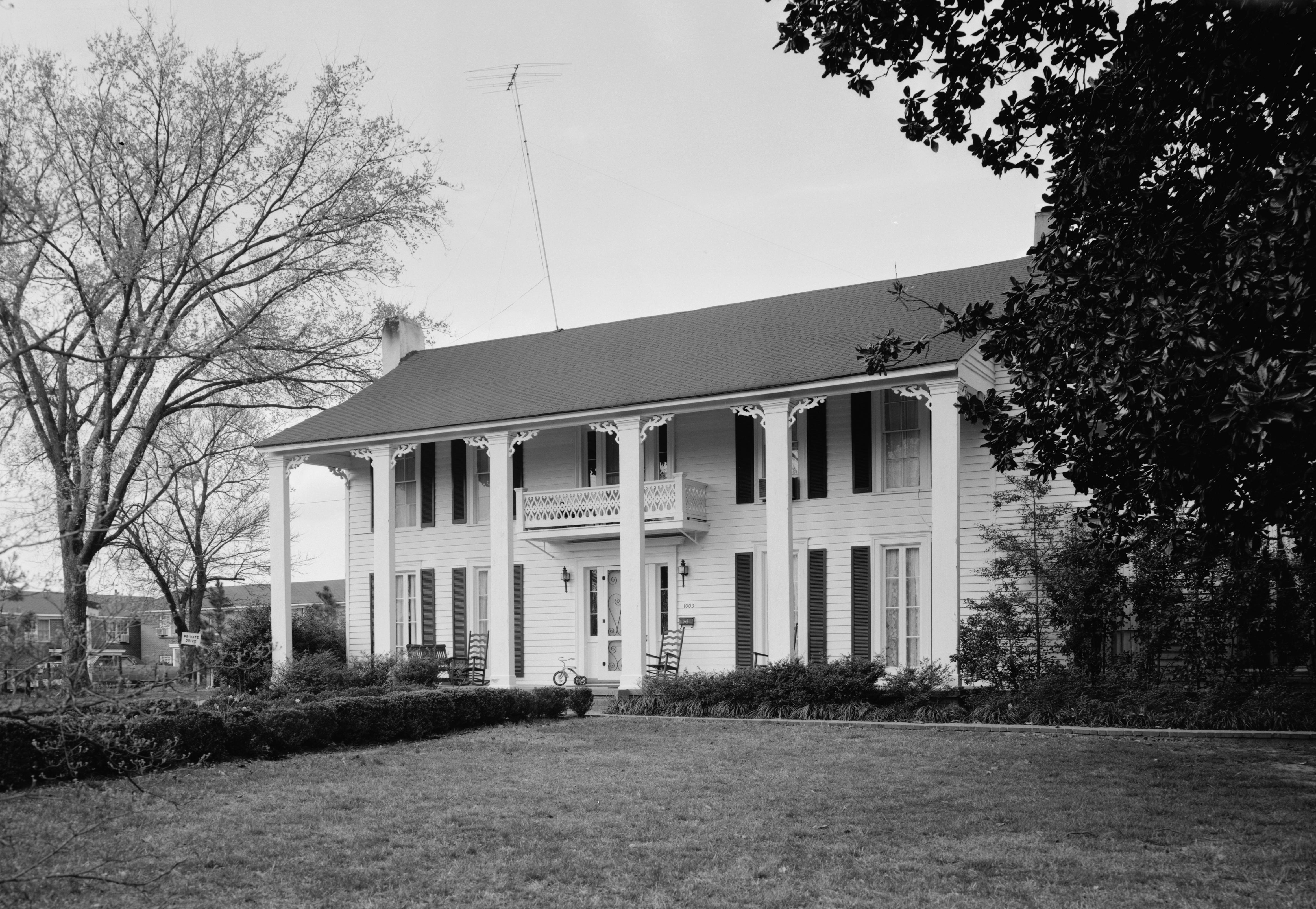 Isom Place was built in the 1840s and today serves as the home of the Barksdale Reading Institute.
