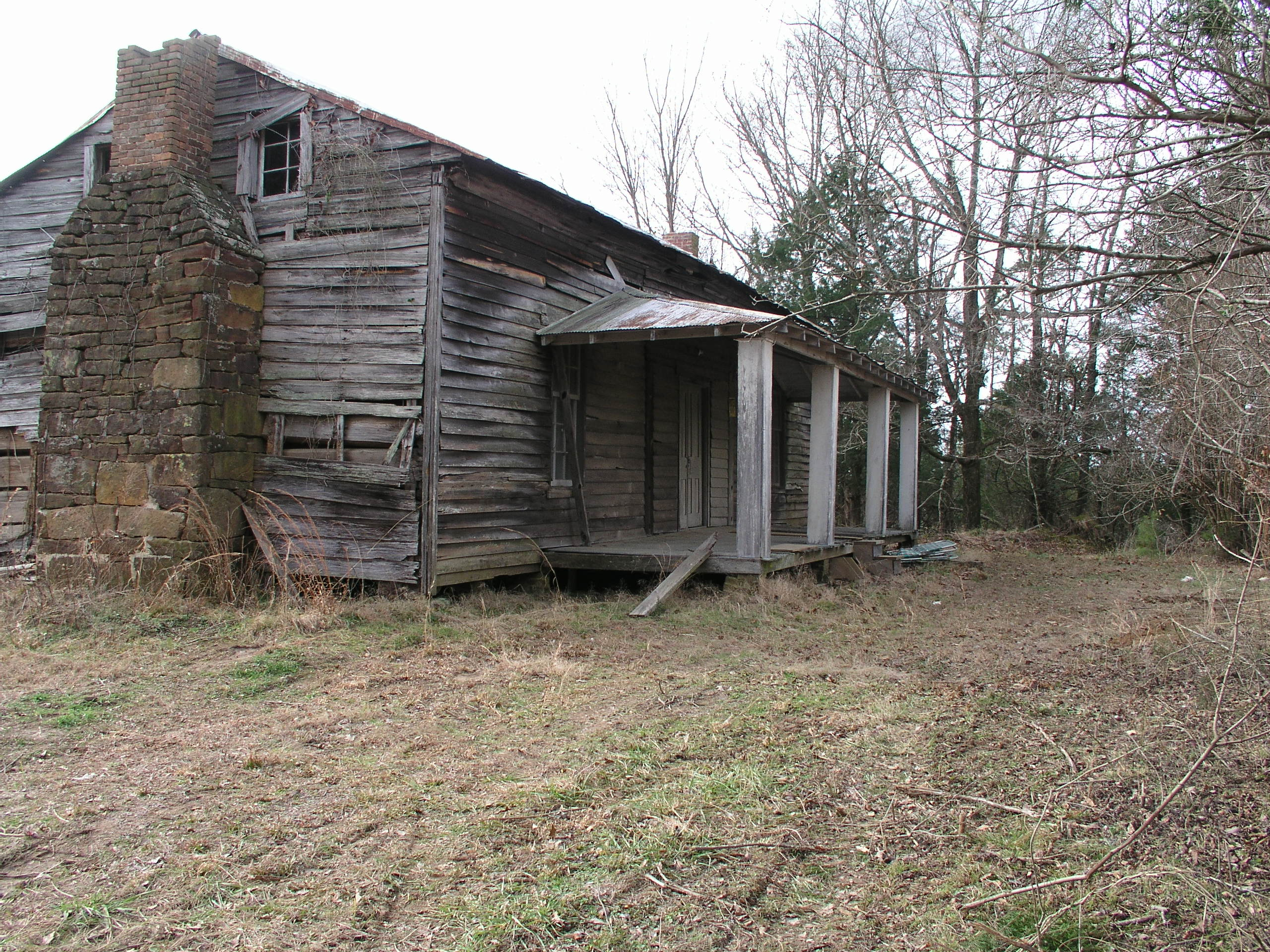 Built in 1850, the George Wright Young House is considered to be the oldest structure in Lafayette county