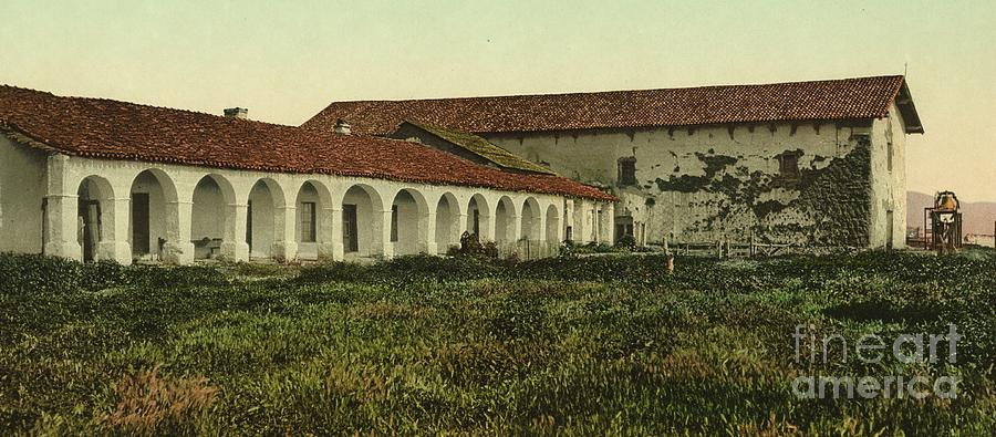 The mission as it appeared in 1898, the year the Spanish-American War began.