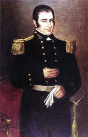 "Argentinian corsair Hippolyte de Bouchard (also known as Hipolito Bouchard), ""California's only pirate."" He raided the Monterey Presidio and Mission San Juan Capistrano in 1818."