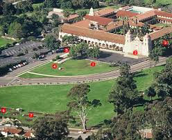 Aerial view of mission